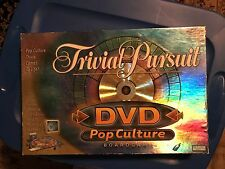 TRIVIA PURSUIT POP CULTURE DVD GAME USED BUT APPEARS TO BE ALL THERE
