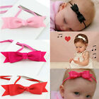 Newborn Baby Girl Infant Toddler Headband Bow Ribbon Hair Band Photo Accessories