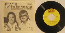 """ELVIS Has Left The Building"" J.D. Sumner 1977 QCA 45rpm w/ PS EX Cond"