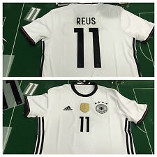 MAGLIA CALCIO SHIRT FOOTBALL ADIDAS GERMANIA GERMANY EURO 2016 HOME REUS #11 DFB