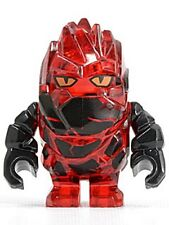 LEGO Power Miners - Rock Monster - Infernox (Trans-Red) Mini Figure