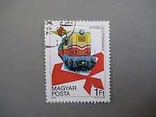 Vintage collectible stamp, Train, Hungarian stamp, MAGYAR POSTA, 1978
