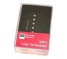 11303-04-B Seymour Duncan Hot P-Rails Bridge Humbucker Black SHPR-2b