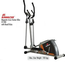 Kamachi Magnetic Elliptical Cross Trainer  Bike Ct-500 With Hand Pulse
