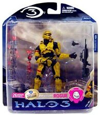"FYE Suncoast exclusive Halo 3 Series 3 ""Gold Rogue"" Action Figure, Xbox 360 NEW"