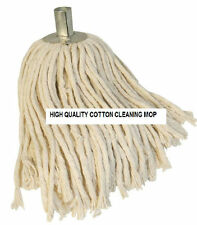 Mop Head Pure Cotton String with Steel Socket Refill Floor Tile Cleaning office