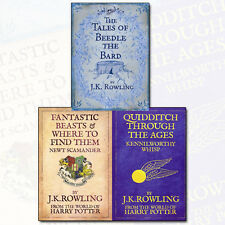 J. K. Rowling Collection 3 Books Set Fantastic Beasts and Where to Find Them NEW