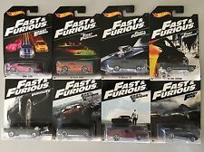 2016 HOT WHEELS  FAST AND FURIOUS SET OF 8 WAL MART EXCLUSIVE