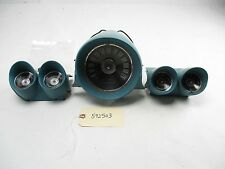 1959 1960 Chevy Impala / All Gauges & Housings With Clock OEM