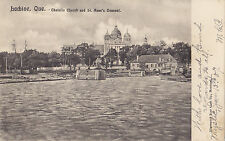 Catholic Church & St. Anne's Convent LACHINE Montreal Quebec 1907 Illustrated