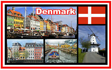 DENMARK - SOUVENIR NOVELTY FRIDGE MAGNET - NEW - *SEE OUR SPECIAL OFFER*