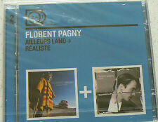 AILLEURS LAND + REALISTE - PAGNY FLORENT (CD x2)  NEUF SCELLE