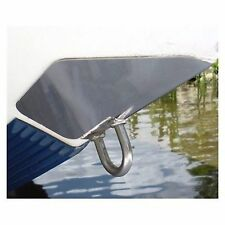 "SS Marine BowShield Bow Guard - Medium 7.5"" x 9"" Stainless Steel Boat MD"