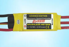 Dynam 60A Brushless ESC RC Speed Controller For Airplane & Helicopter