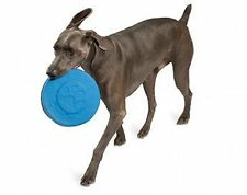 Dogzilla Flying Disc Dog Toy, Blue, 10 Inches.Tough  Fabric covered Foam.