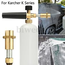Snow Foam Lance Pressure Washer Car Wash Jet Gun Cannon 1L Bottle For Karcher K