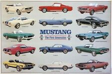 "Mustang""The First Generation History"",XMAS SPECIAL!! Limited Offer!! Car Poster"