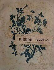 BOUGAREL BOUDEVILLE - Pierre Bartay, prisonnier de guerre - Mame, 1920
