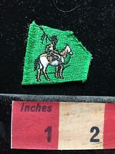 Tiny, As-Is Native American Indian Theme Patch ~ On A Horse Brave 72T4