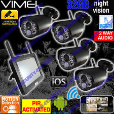 DIY Home Security Camera System House CCTV IP Night Vision Backup Remote Monitor