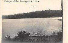 Greenfield New Hampshire Zephyr Lake Real Photo Antique Postcard (J37512)