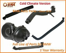 BMW E46 CRANKCASE VENT VALVE & HOSE KIT - COLD WEATHER CLIMATE 5 Piece Kit