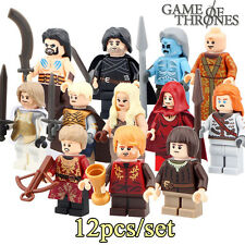 Juego de Tronos- Game of Thrones - minifigures LEGO - Arya, Tyrion...
