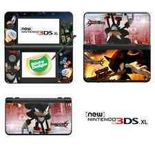 Shadow the Hedgehog Vinyl Skin Sticker for NEW Nintendo 3DS XL (with C Stick)
