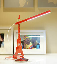 New Fashion Eye Protection LED Reading Light Bedside Table Study Desk Touch Lamp