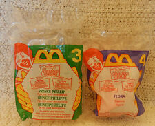 McDonald's HMT -1996 Disney's Sleeping Beauty - #3 Prince Phillip & #4 Flora