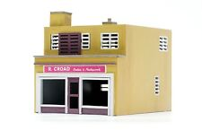 DAPOL C031 SHOP AND FLAT UNPAINTED PLASTIC MODEL CONSTRUCTION KIT