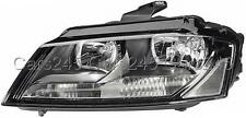 HELLA Halogen DRL LED Headlight RHD LEFT fits AUDI A3 8P Sportback Facelift 08-