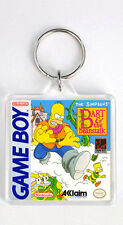 THE SIMPSONS BART AND THE BEANSTALK NINTENDO GAME BOY KEYRING LLAVERO