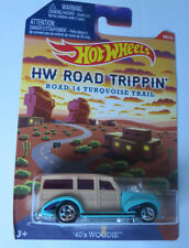 Hot Wheels 1:64 Road Trippin - Woodie 1940's. Brand new