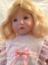 Kayla by Dianna Effner Rubert Porcelain Doll Handpainted 1994 (RARE)