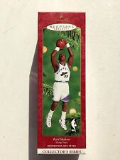 NBA Karl Malone Utah Jazz Hallmark Keepsake 2000 Christmas Ornament NEW