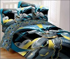DC Comics Batman in the City Super Soft Luxury 4 Piece Full Size Comforter Set