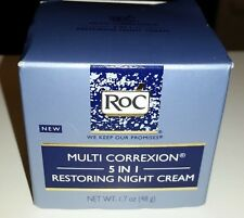 *NEW* RoC Multi Correxion 5 in 1 Restoring Night Cream 1.7 oz Anti-aging Skin