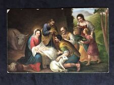 Vintage Postcard - Religious #52 - Misch & Co - The Nativity Murillo