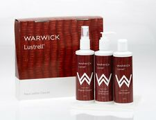 Warwick LUSTRELL Faux Leather Cleaning Care Kit for lounge sofa couch