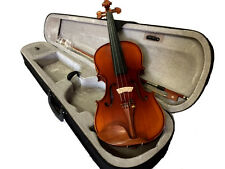 BANKRUPCY SALE-NEW FLAMED CONCERT VIOLIN-WITH CASE AND BOW-GERMAN