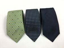 Lot Of 3 Burberry London Polo Ralph Lauren John W. Nordstrom NEW Men's Ties