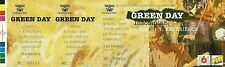 RARE / TICKET DE CONCERT LIVE - GREEN DAY A GRENOBLE AVRIL 1996 / COMME NEUF