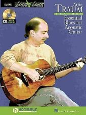Artie Traum Teaches Essential Blues for Acoustic Guitar: Learn the Songs and Tec