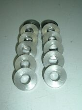 Aluminum Washer Spacer Shim CNC cut from 1 Inch Tubing w/ 7/16 Center