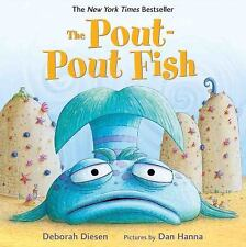 The Pout-Pout Fish by Deborah Diesen Board Book Book (English)