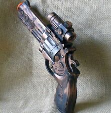 Steampunk Pirate gun pistol Victorian LIGHT SOUND cp  Zombie Fall out TOY zombie