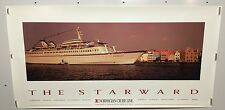 Original NORWEGIAN CRUISE LINE  ADVERTISING Travel POSTER The Starward