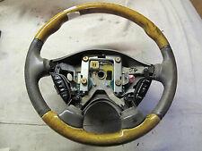 Jaguar  early S type 99-2003 Wood leather Steering wheel