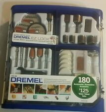 New Dremel Tool Kit 180 Pieces Rotary Accessory Kit 710-09